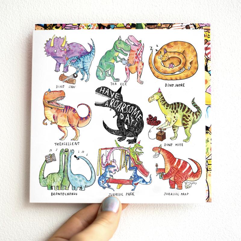 Roarsome-Day_-Dinosaur-Birthday-card-with-funny-dinosaur-puns_MP37_THB