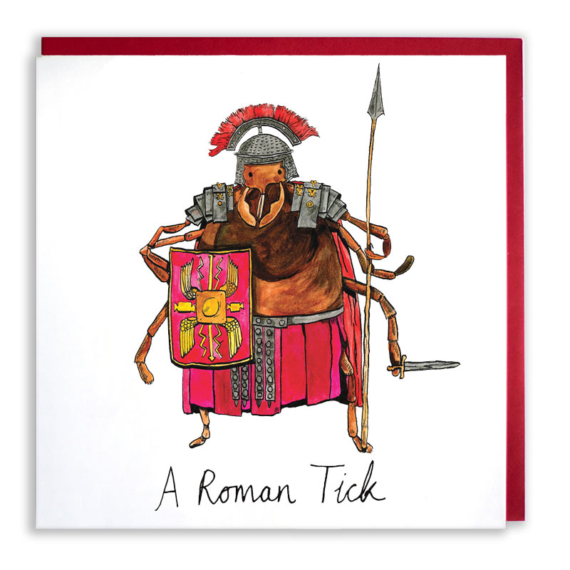 Roman-Tick_-Romantic-valentines-day-or-anniversary-greetings-card-with-ant-based-pun_VD04_WB