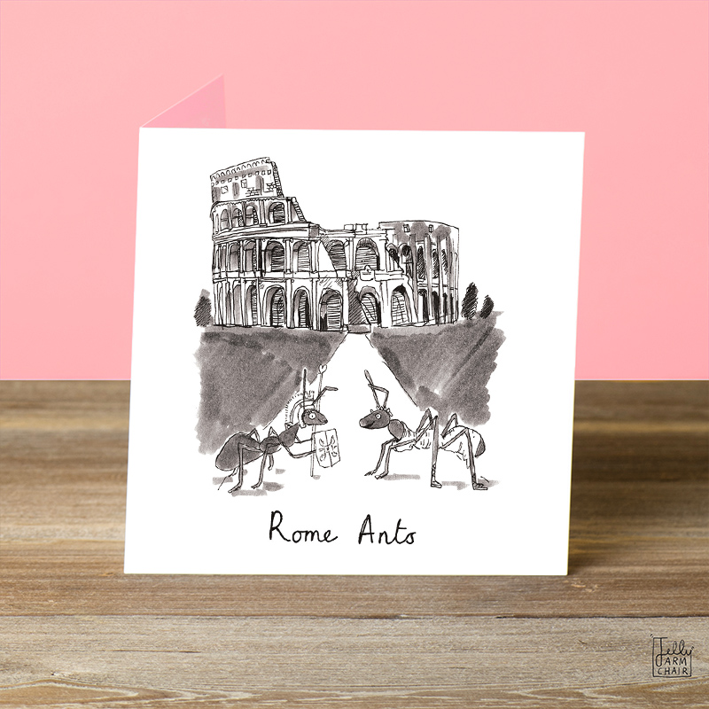 Rome-Ants_Funny-romantic-Valentines-day-or-anniversary-greetings-card-with-ant-and-Italy-based-pun_VD05_OT-