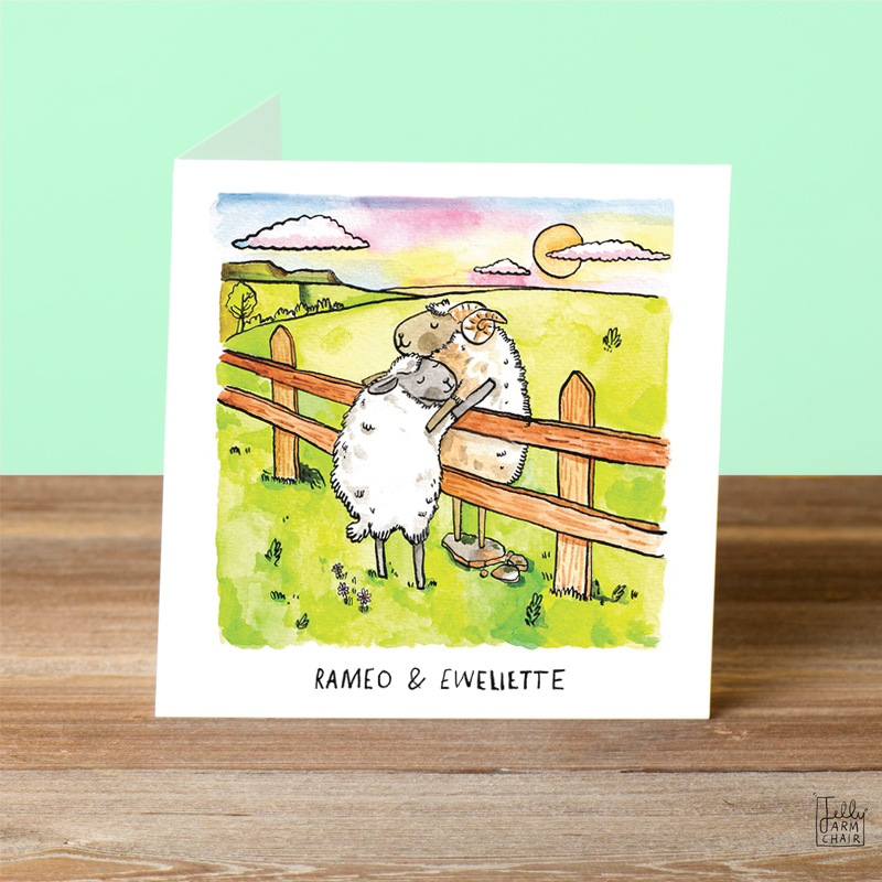 Romeo-and-Ewelette_Funny-Shakespeare-greetings-card-with-sheep-puns_SL09_OT