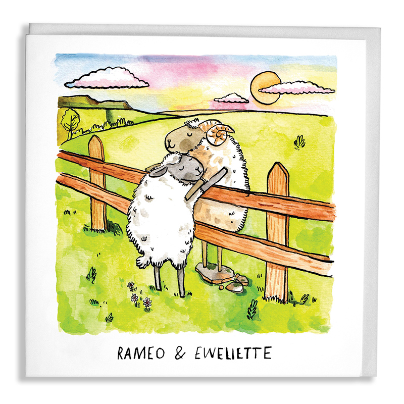 Romeo-and-Ewelette_Funny-Shakespeare-greetings-card-with-sheep-puns_SL09_WB