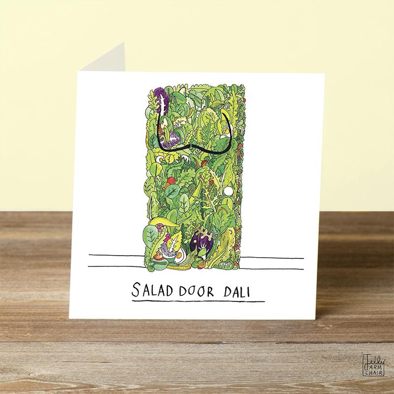 Salad-Door_Salvador-Dali-joke-greetings-card-for-art-lovers-and-art-collector_SA05_OT