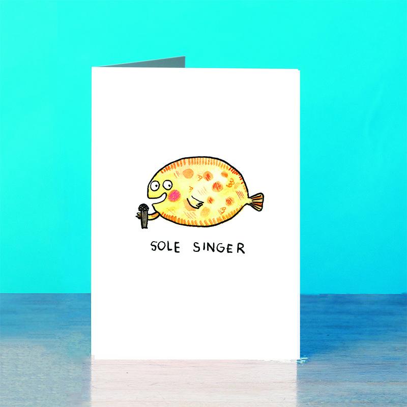 Sole-Singer_Singing-Fish-pun-greetings-card_SM50_OT