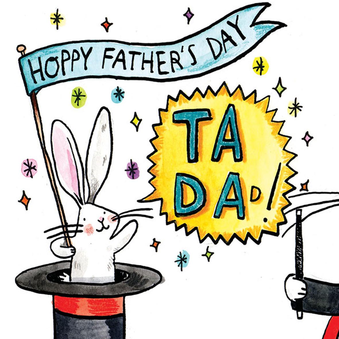 Ta-Da-Magic_-Fathers-Day-card-with-magic-theme-and-rabbit-base-down_FD15_CU