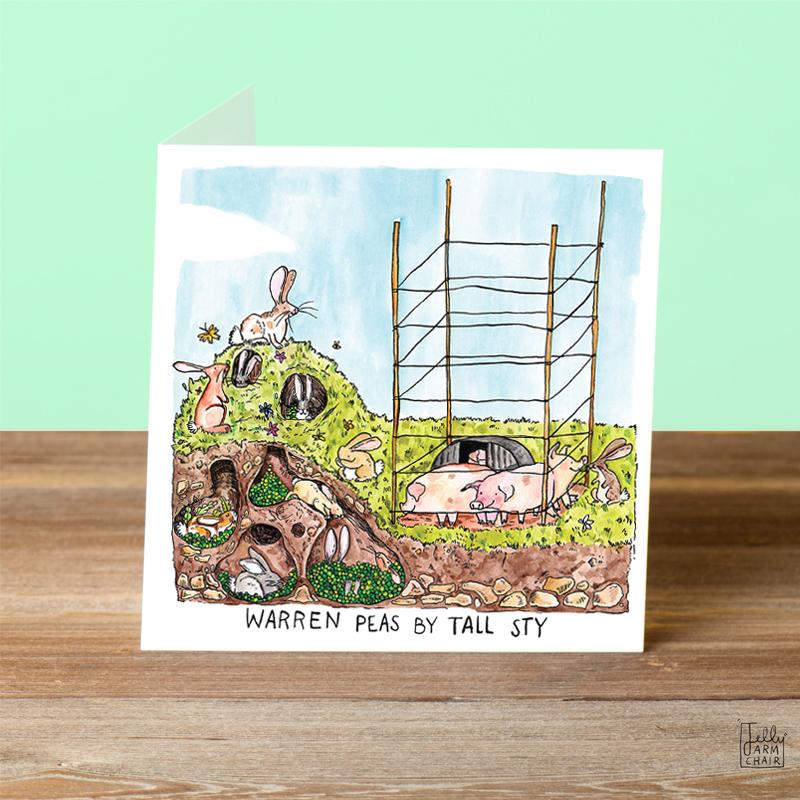 Warren-Peas_-War-and-Peace-greetings-card-with-rabbit-pun_SL07_OT