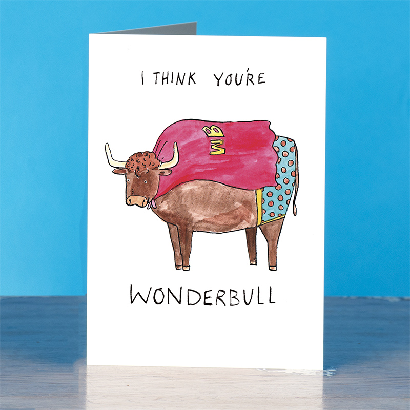Wonderbull_-Motivational-greetings-card-with-superhero-and-cow-pun_IT01_OT