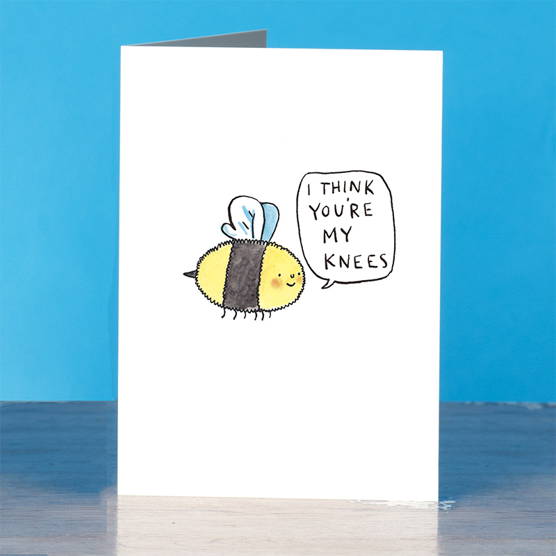Youre-My-Knees_-Bee-greetings-card-for-nature-lovers-with-bees-knees-pun_IT05_OT