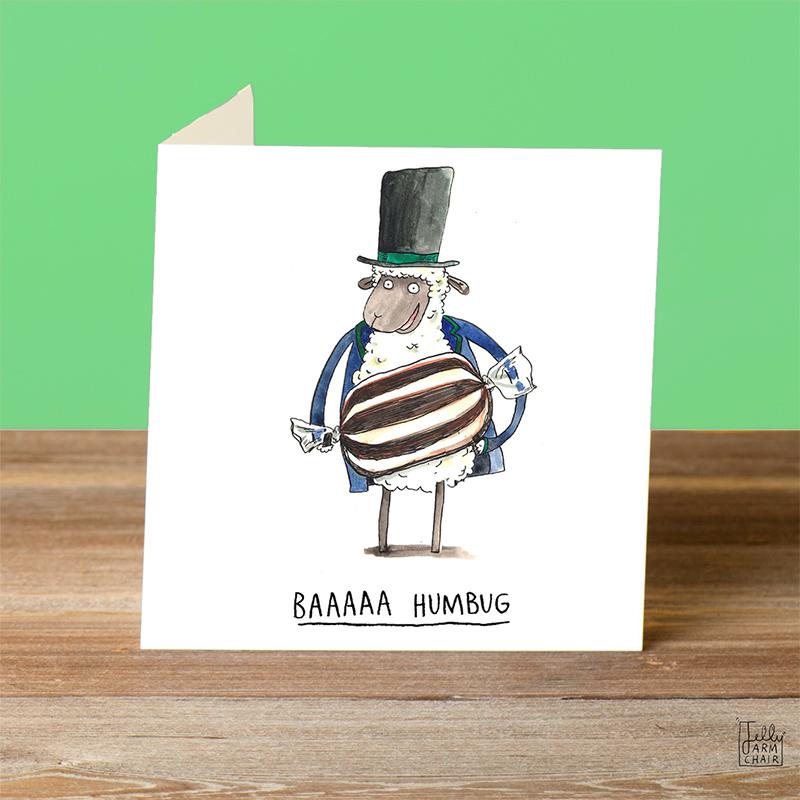 Baaa-Humbug_-Scrooge-themed-Christmas-card-with-sheep-pun_CH12_OT