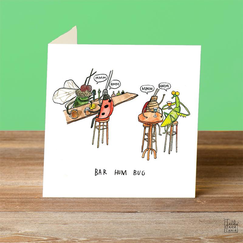 Bar-Hum-Bug_Insect-pun-Christmas-card.-Wildlife-Christmas-card_CH20_OT