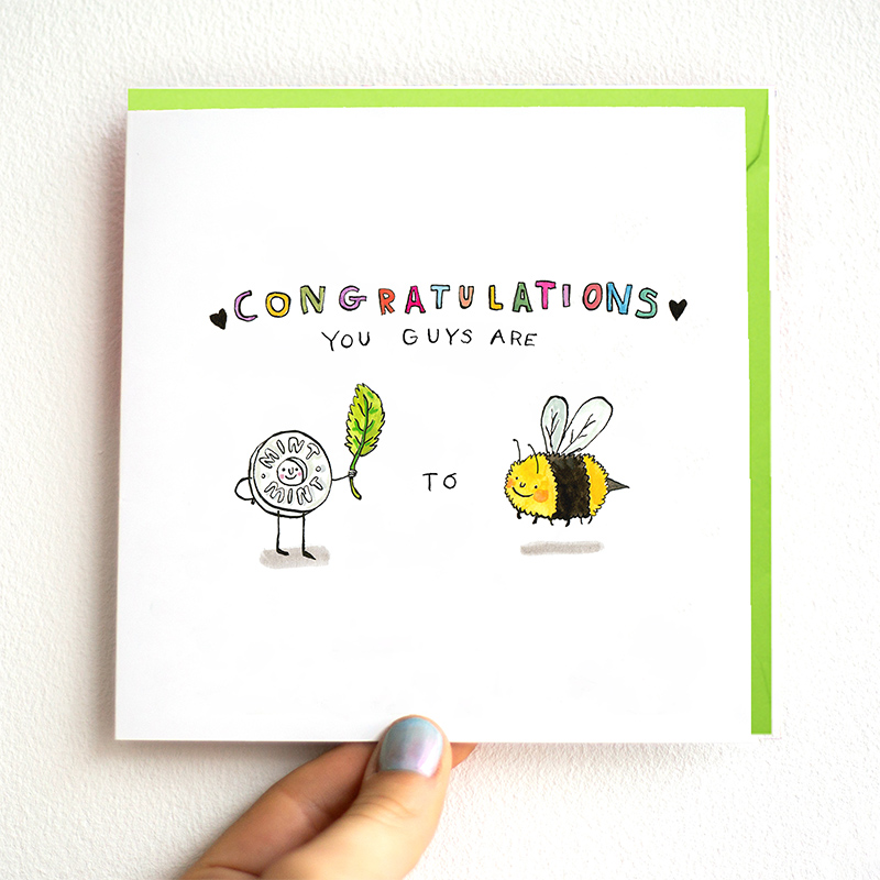 Mint-To-Be_-Bee-themed-wedding-card-for-nature-lovers_WD01_THB