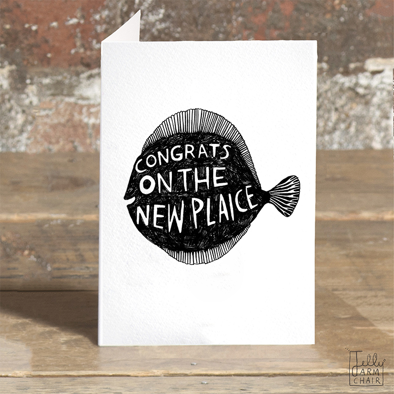 New-Plaice_-Congratulations-on-the-new-home-greetings-card-with-fish-pun_BW29_OT