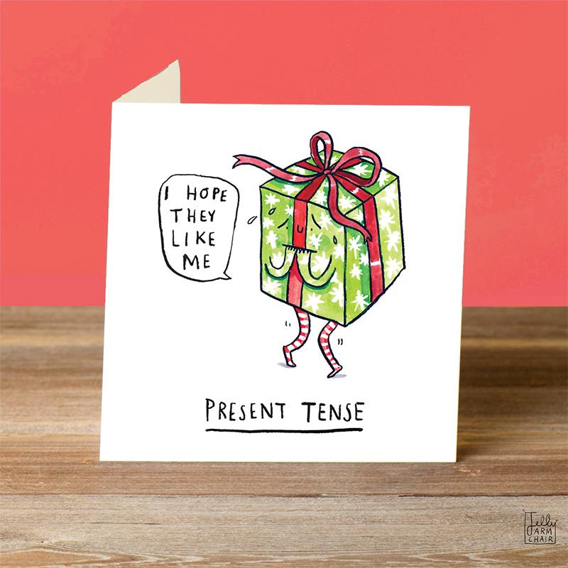 Present-Tense_-Funny-pun-Christmas-card-with-Christmas-gift_CH13_OT
