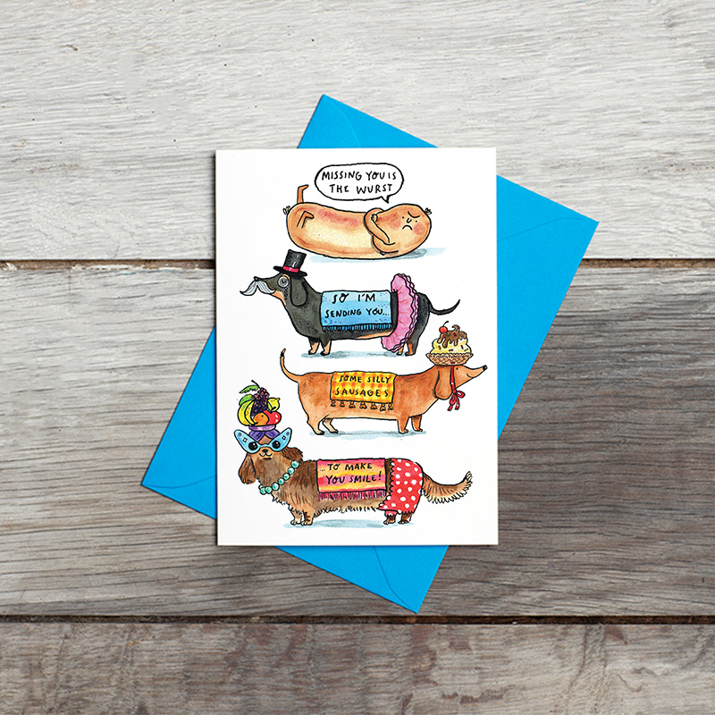 Silly-Sausages_Greeting-cards-for-dog-and-dachshund-owners_SO55_FLC