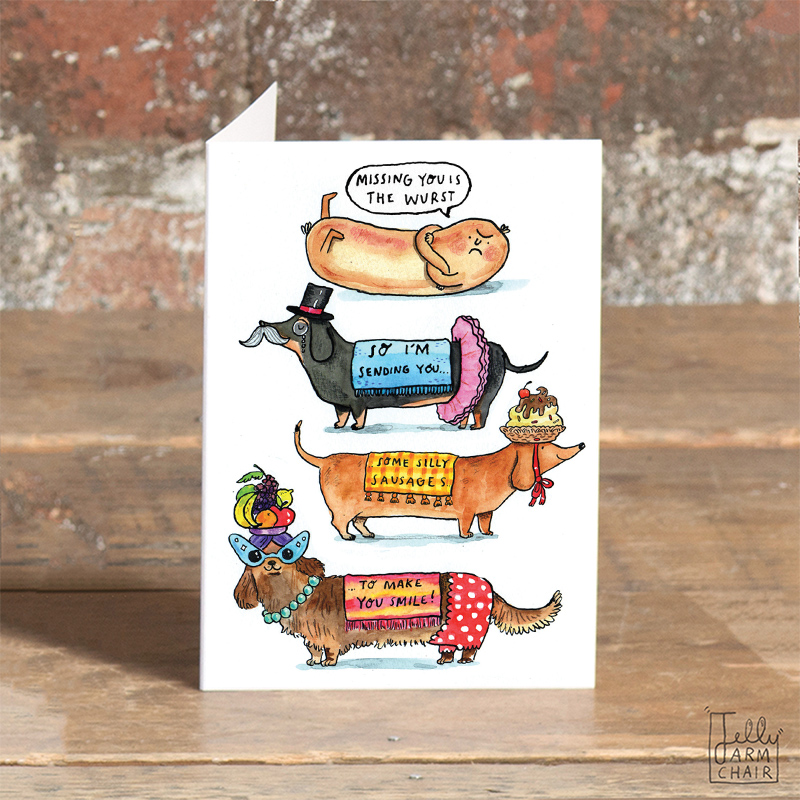 Silly-Sausages_Greeting-cards-for-dog-and-dachshund-owners_SO55_OT