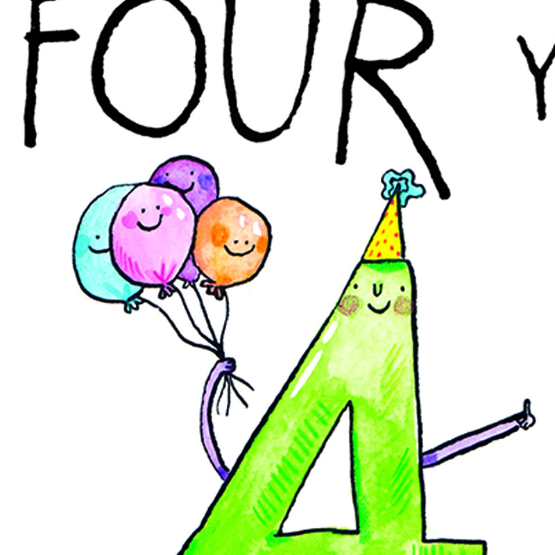 Wishes-Four-You_-Fun-fourth-birthday-card.-Birthday-card-for-four-year-old-kids_AN04_CU